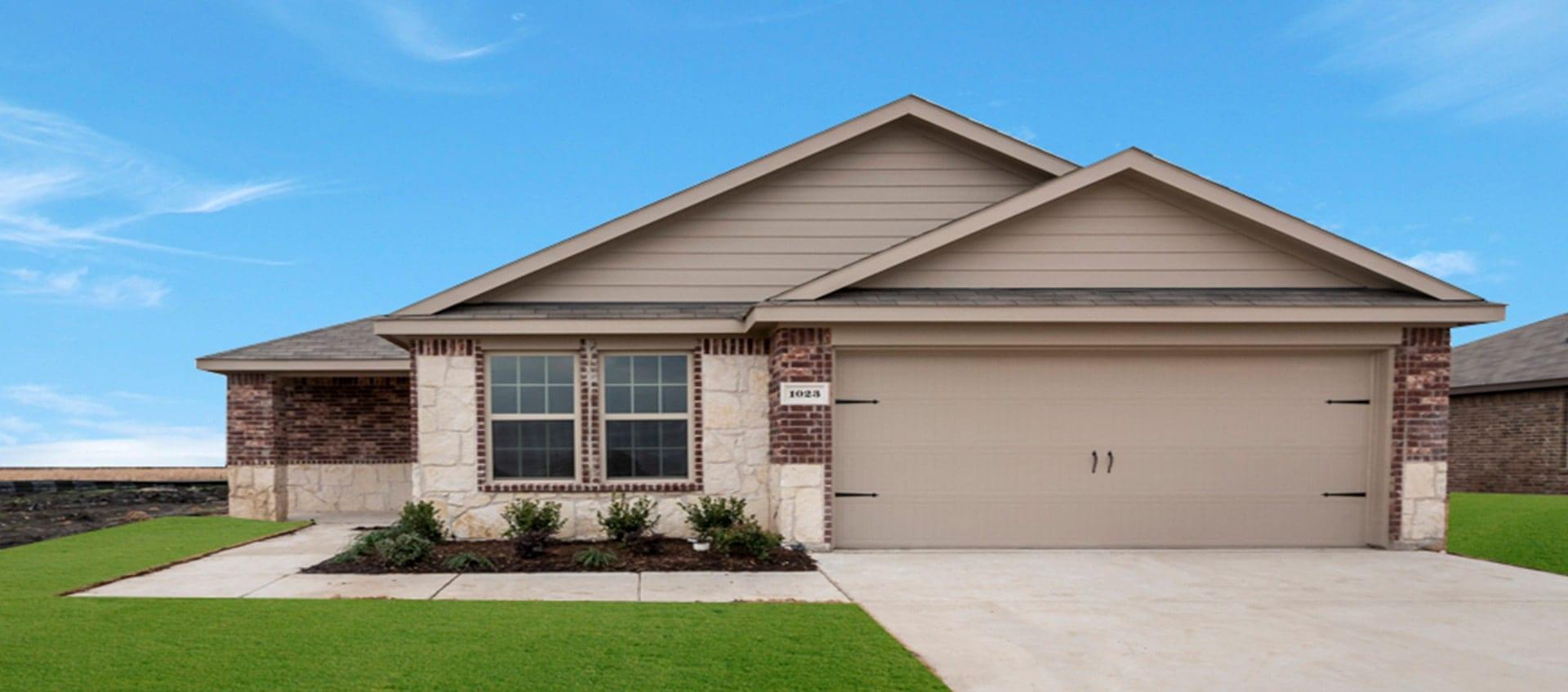 Express Homes Model at Wildcat Ranch Crandall Texas