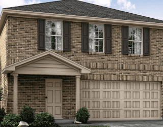 Rendering of Lennar Builder model home